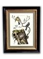 Dolce Home Bird Art Tablolar Renkli